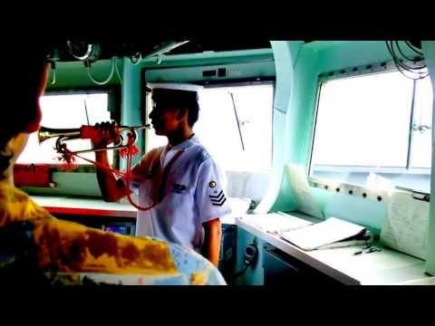 海上自衛隊舞鶴地方隊 展示訓練2013 DDG-178イージス艦「あしがら」