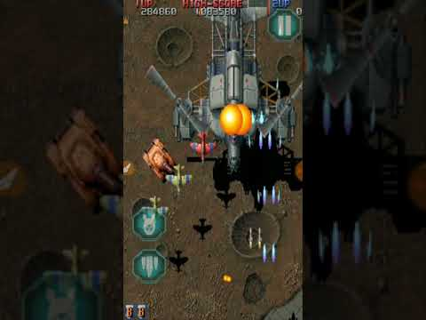 Raiden fighter legacy mission 1 gameplay on android |
