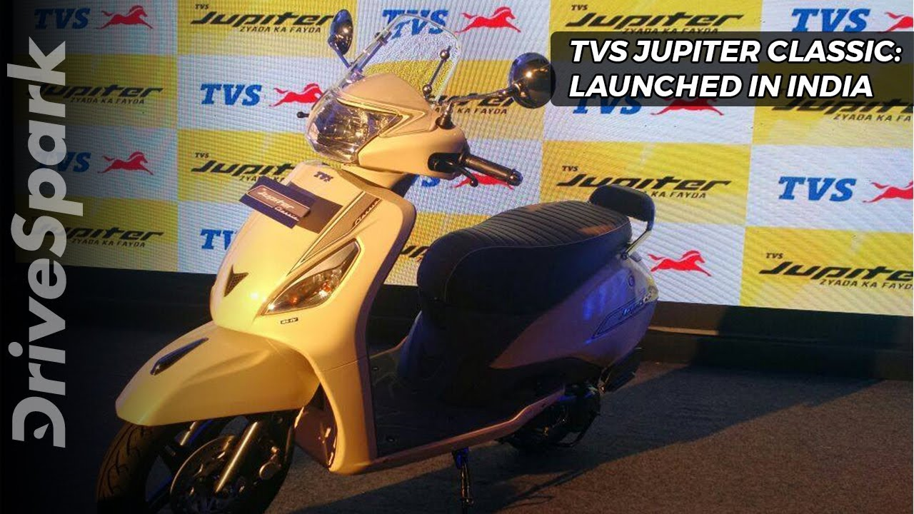 Tvs Jupiter Classic Launched In India Drivespark Youtube