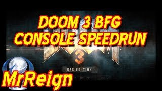 Doom 3 BFG PS4 Console SpeedRun - Speed Run Trophy Achievement