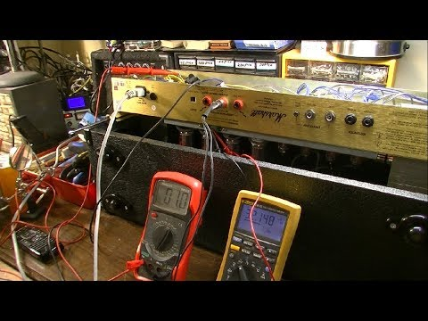 Mother of All Marshall Amp Repair Videos - DSL100 Blowing Fuses, Bias Runaway, Fun Times!