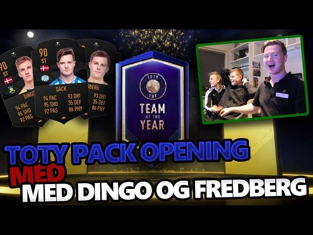 50K POINTS TOTY PACK OPENING MED DINGO OG FREDBERG - Qack