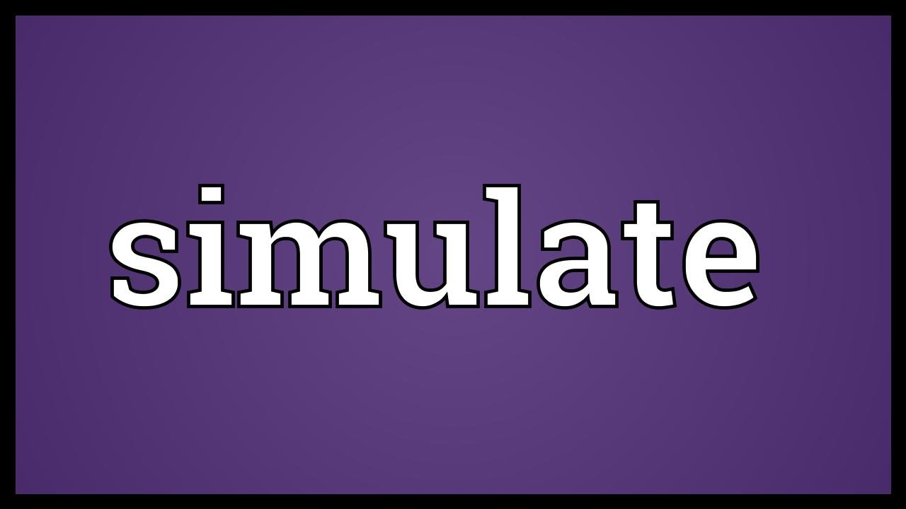 Simulate Meaning