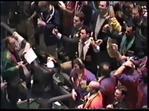 Chicago Board of Trade Futures Trading Pits