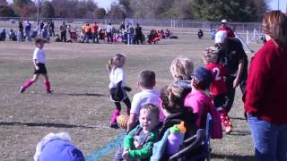 2015 FALL Soccer Tournament Cheetah Girls Game 2