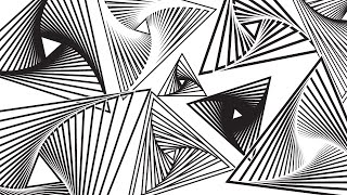 Spiral Triangles: Illustrator Tutorial