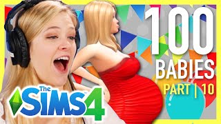 Single Girl Tries The 100-Baby Challenge In The Sims 4 | Part 10