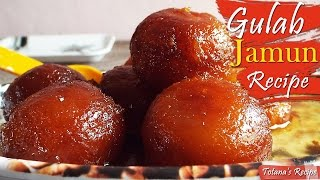 Bengali Sweets | Gulab Jamun (Sweets Recipes ) with Khoya  | Pantua | Bengali Sweets Recipe