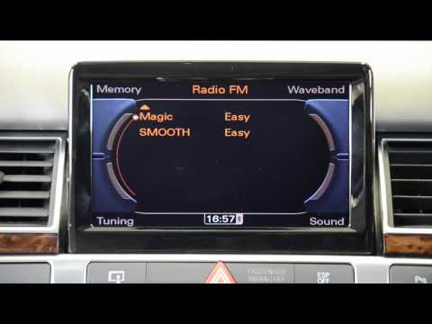 Satnav Systems presents: Audi Digital DAB Radio