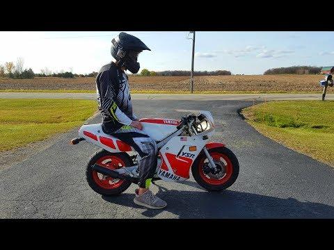 A Quick Look at a Rare Yamaha Race Bike!!!