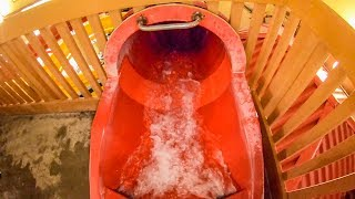 Red Totem Towers Water Slide | Great Wolf Lodge Sandusky