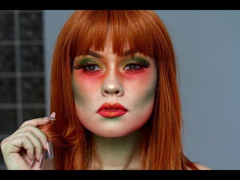 Poison Ivy Inspired Makeup Tutorial (DC Comics)