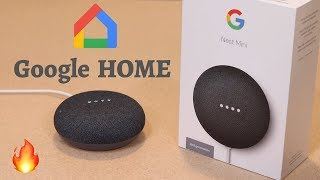 Google Nest Mini (2nd Generation) Unboxing | Google Home | Tech Unboxing 🔥