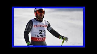 Ski alpin: le descendeur français david poisson est décédé lors d'un entraînement au canada