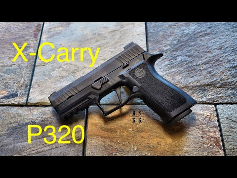 Sig Sauer P320 X-Carry - A P320 With All The Right Moves