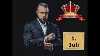 TOP 20 Deutschrap Single Charts   1. Juli
