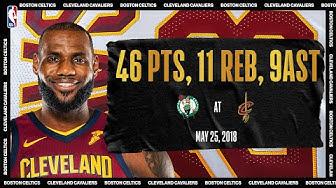 2018 Eastern Conference Finals Game 6: Boston Celtics @ Cleveland Cavaliers #NBATogetherLive