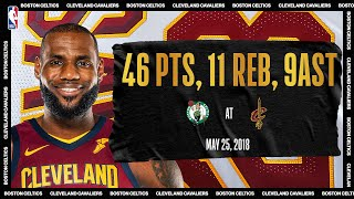 2018 Eastern Conference Finals Game 6: Boston Celtics @ Cleveland Cavaliers #NBATogetherLive