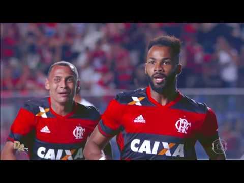 Gols - Flamengo 3 x 1 Figueirense - Sul-Americana 2016