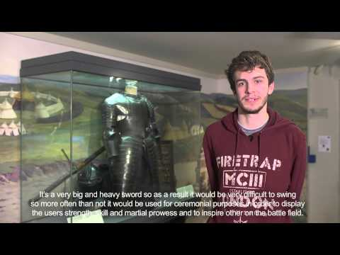 York Museums Trust: Genesis Podcast Project - Double Handed Sword