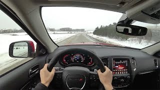 2018 Dodge Durango GT Brass Monkey AWD - POV Driving Impressions (Binaural Audio)