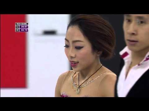 2016 Worlds   Pairs   SP   Wenjing Sui & Cong Han  Spanish Romance
