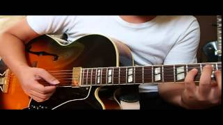 Somewhere over the rainbow solo guitar jazz