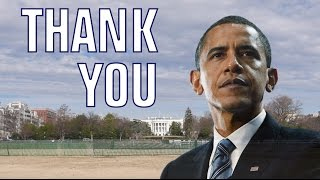 Dear President Obama, THANK YOU