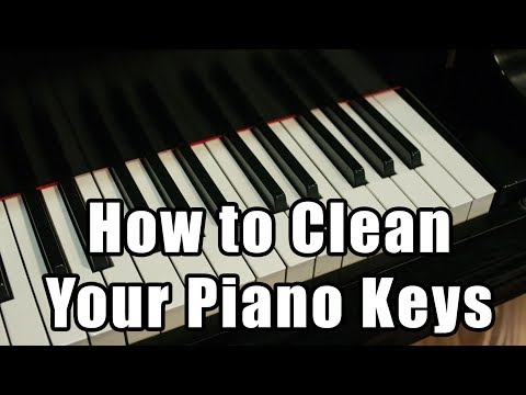 How to Clean Your Piano Keys
