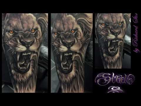 Portfolio preview... Custom tattoo art by Richard Stokes @ Studio 'S'