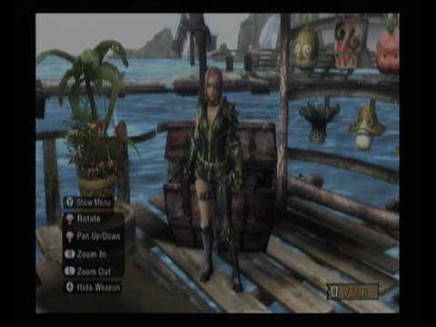 Mh3 Female Rare 7 Armor Set Youtube