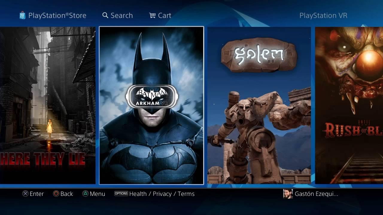 Playstation Vr Juegos Confirmados De Lanzamiento Youtube