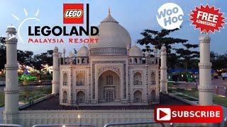 An Evening at Legoland Johor Bahru Malaysia.