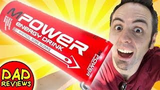 AMERICAN TRIES POLISH DRINK   MPower Energy Drink Taste Test & Review