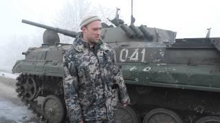 Командир ополчения Пиксель про БМП ВСУ 28.01.2015.