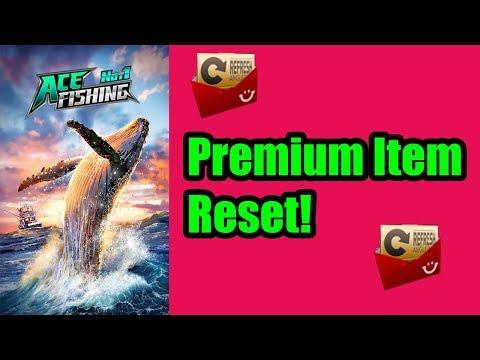 Ace Fishing Guide: Premium Item Reset Explained