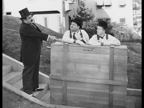 Laurel and Hardy in The Music Box (1932)
