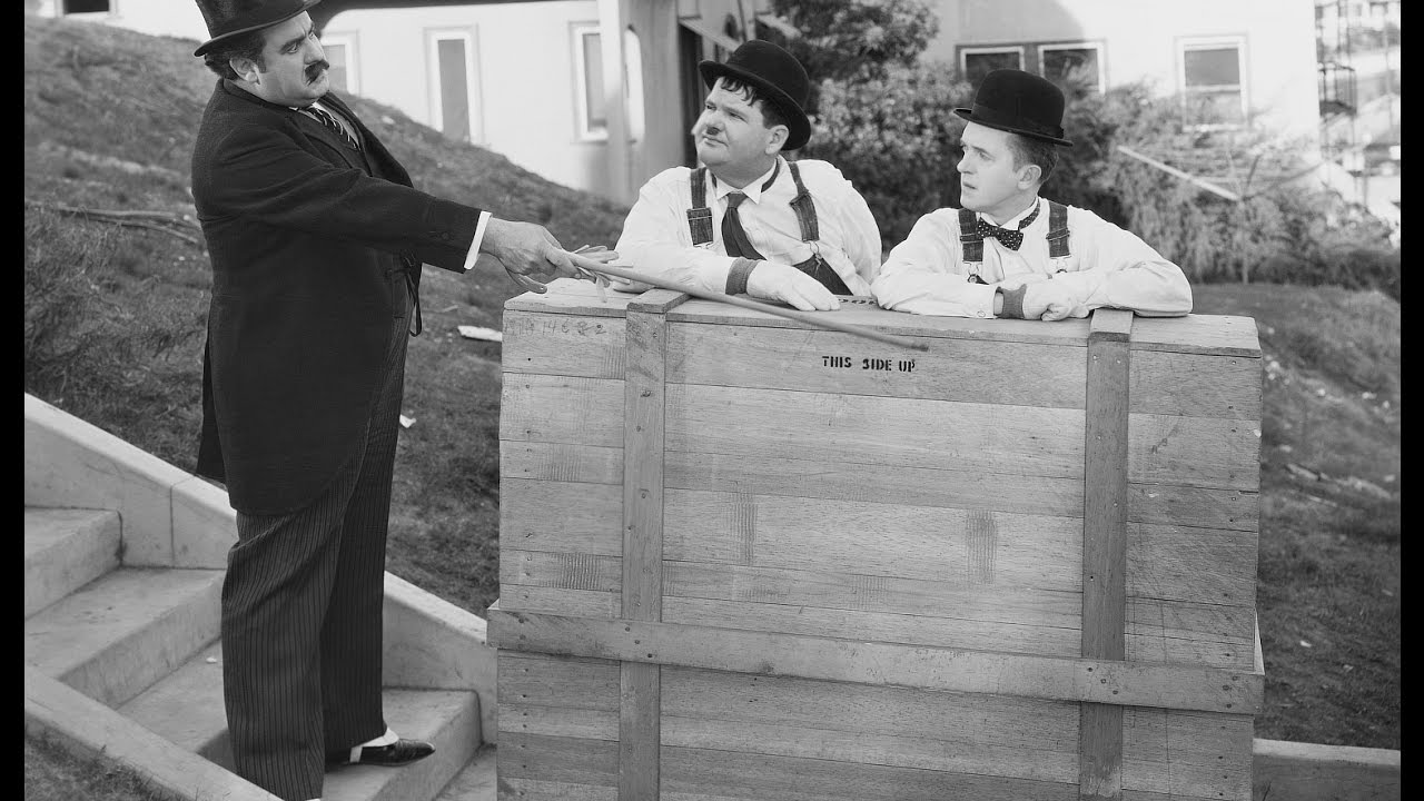Laurel And Hardy In The Music Box 1932 Youtube