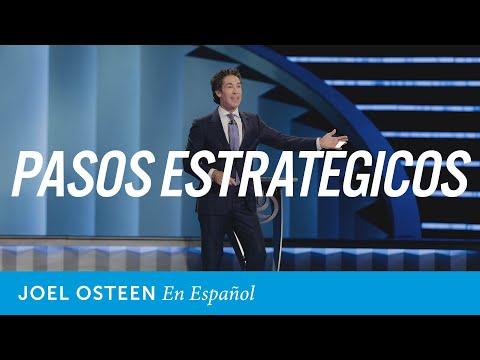 Pasos ordenados estratégicamente | Joel Osteen