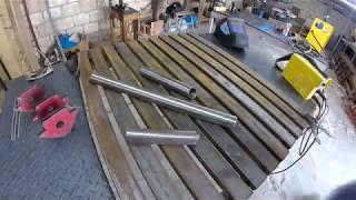 (DIY WorkBench ) صنع طاولة لحام من حديد