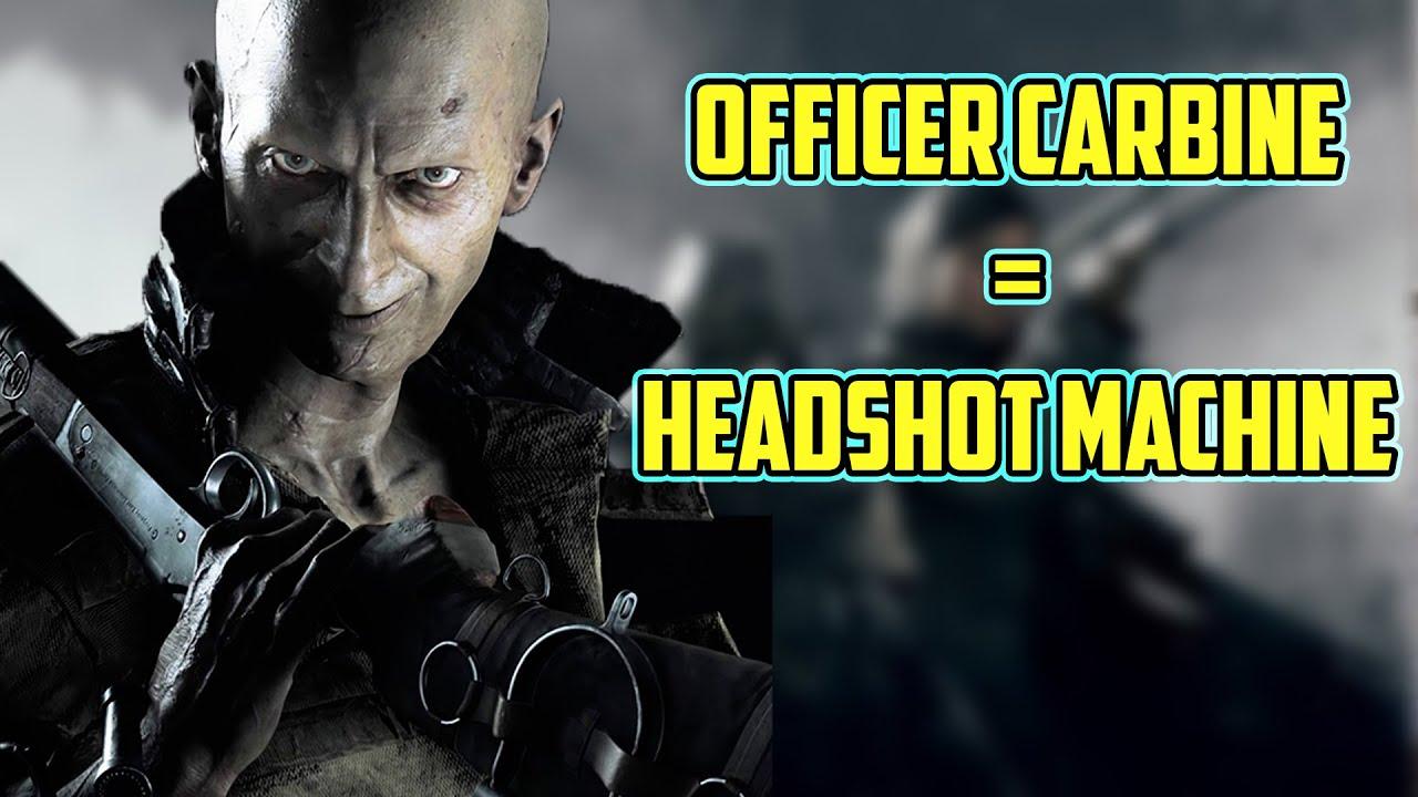 NEVER LEAVE A TEAMMATE BEHIND! Crazy Officer Carbine Game! #huntshowdown