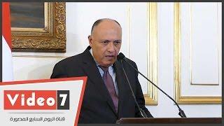 بالفيديو.. وزير الخارجية يعلن عقد اجتماع لمصر والسودان وإثيوبيا خلال القمة الإفريقية