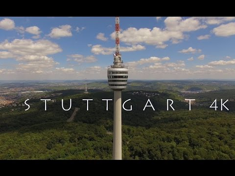 STUTTGART in 4K : Solitude, Mercedes Benz Arena, Cannstatter
