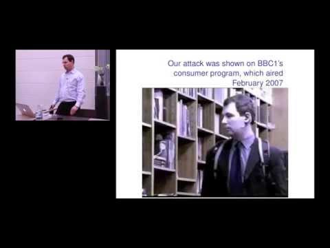 Secure Payment Architecture - Steven Murdoch