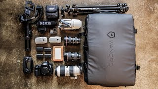 A Travel Backpack That Fits A DSLR, Drone, AND A GIMBAL