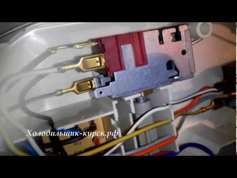 Electrolux ERB4010AC  Замена терморегулятора