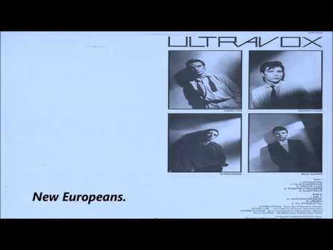 Ultravox - New Europeans / With Lyrics