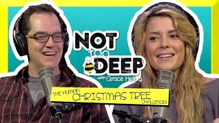 HUMAN CHRISTMAS TREES w/ MARK DOUGLAS // Grace Helbig Thumbnail