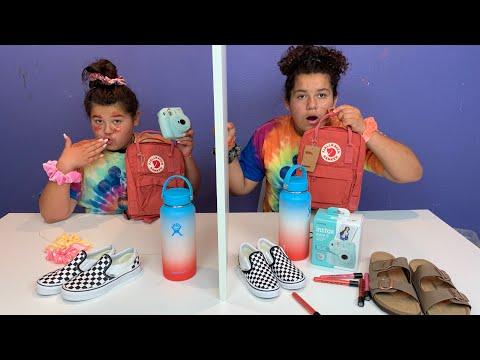 Twin Telepathy VSCO GIRL Challenge
