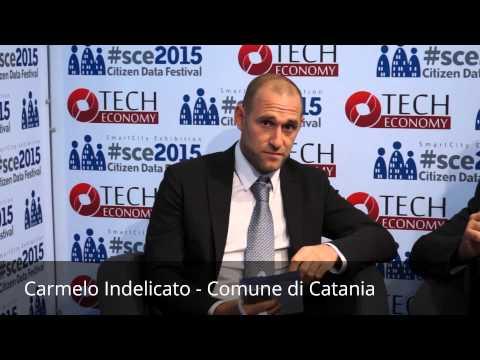 Il Progetto Prisma per Catania smart city: Carmelo Indelicato a #SCE2015